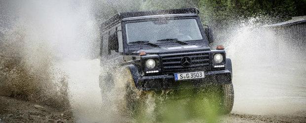 Mercedes-Benz pregateste un G-Class pentru puristi. Faceti cunostinta cu G350d Professional