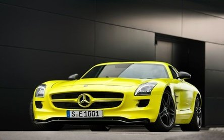 Mercedes-Benz SLS AMG E-Cell - Gullwing-ul electri(c)zant
