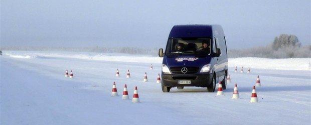 Mercedes-Benz Sprinter 313 castiga Arctic Van Test 2012