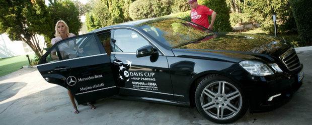 Mercedes-Benz sustine tenisul la Cupa Davis 2011