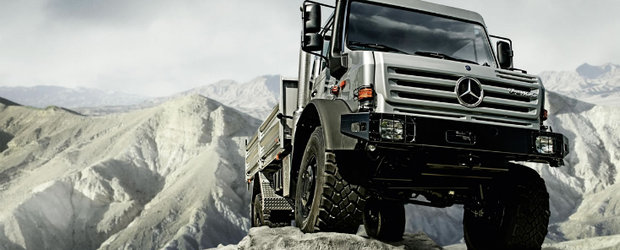 Mercedes-Benz Unimog implineste 60 de ani