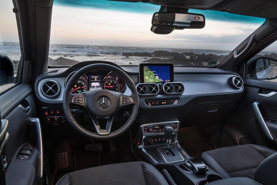 Mercedes-Benz X-Class Tisher si VanEssa