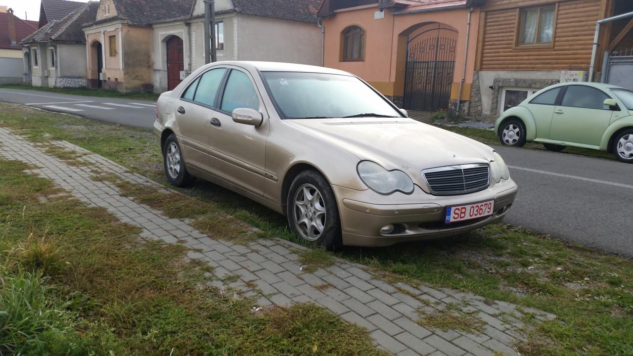 Mercedes C 200 2.2 CDI 2001