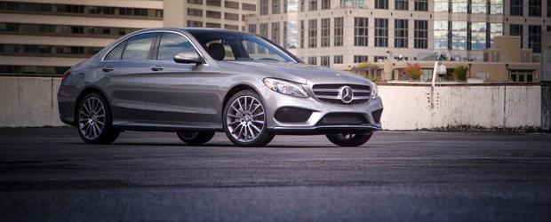 Mercedes C-Class este Masina Anului 2015 in Lume