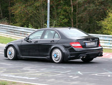 Mercedes C63 AMG Black Series - Poze Spion