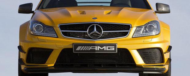 Mercedes C63 AMG Coupe Black Series: Fata in fata cu cel mai impresionant C Class din istorie