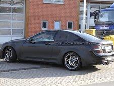 Mercedes C63 AMG Coupe Black Series - Poze Spion