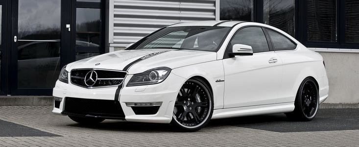 Mercedes C63 AMG Coupe by Wheelsandmore - Adio civilizatie, bun venit haos