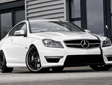 Mercedes C63 AMG Coupe by Wheelsandmore