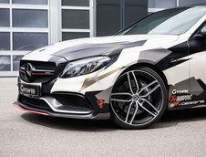 Mercedes C63 AMG de 800 CP