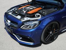 Mercedes C63 AMG de la G-Power