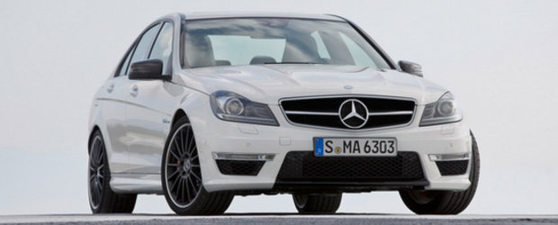 Mercedes C63 AMG intra in scena - Un nou aspect, aceeasi inima de leu