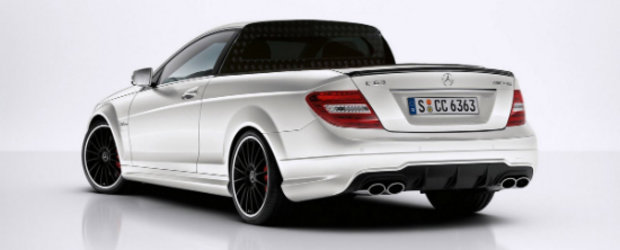 Mercedes C63 AMG Pick-Up - A fi sau a nu fi