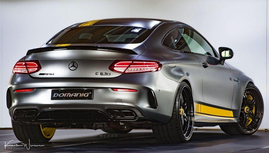 Mercedes C63 de la DOMANIG