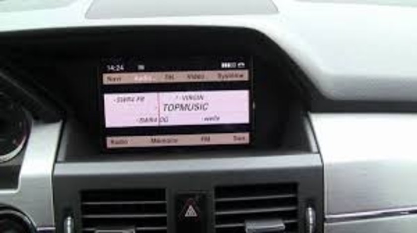 MERCEDES CD DVD Update Harti Navigatie Mare GPS C-Class GLK Comand APS NTG4 204