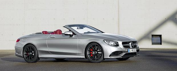 Mercedes celebreaza 130 ani de la nasterea automobilului cu un S Cabrio special