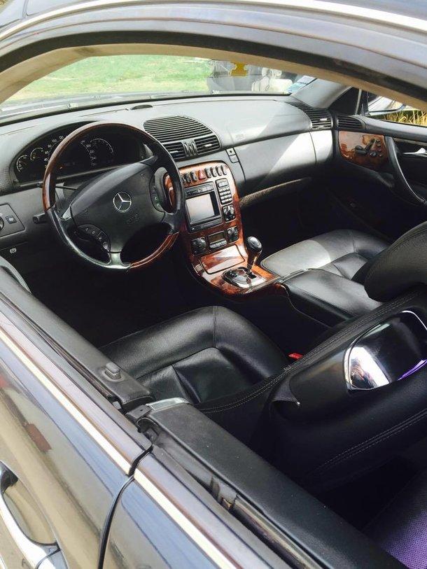 Mercedes CL 500 M113 2000