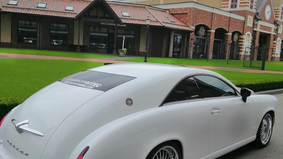 Mercedes CL tunat cap coada - Mercedes CL tunat cap coada