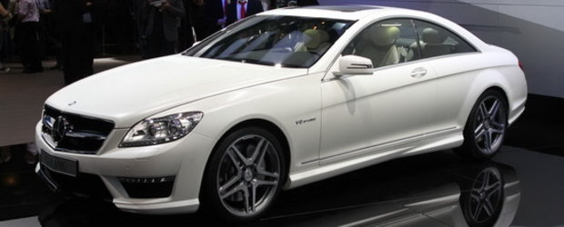 Mercedes CL63 AMG mixeaza eleganta si sportivitatea intr-un coupe de lux
