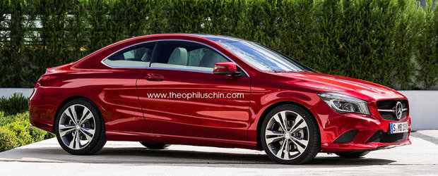 Mercedes CLA Coupe, intre realitate si fictiune