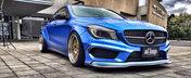 Cel mai agresiv Mercedes CLA al planetei vine... de la japonezi, desigur