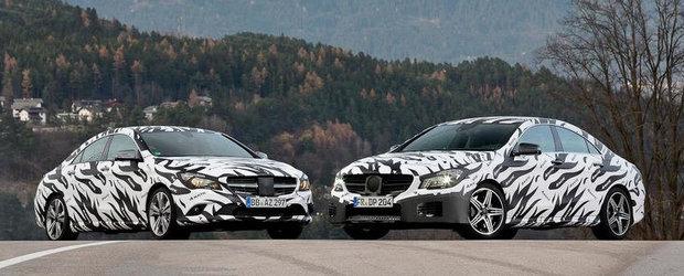 Mercedes CLA si CLA45 AMG - Primele imagini oficiale!