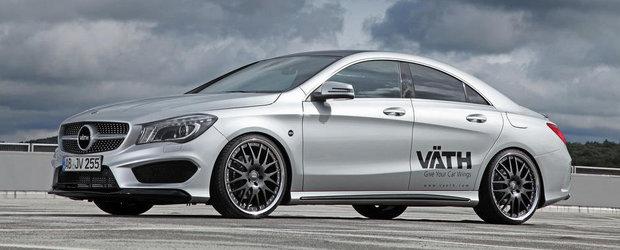 Mercedes CLA250 by VATH: Tuning de 15.000+ euro pentru compactul german