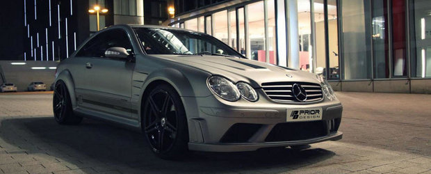 Mercedes CLK by Prior Design - De la standard la Black Series in doi pasi si trei miscari