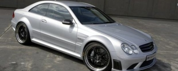Mercedes CLK63 AMG Black Series de 573 CP