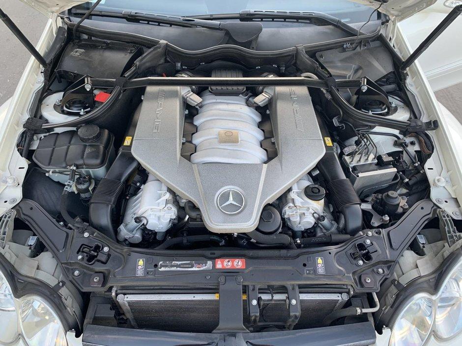 Mercedes CLK63 Black Series de vanzare