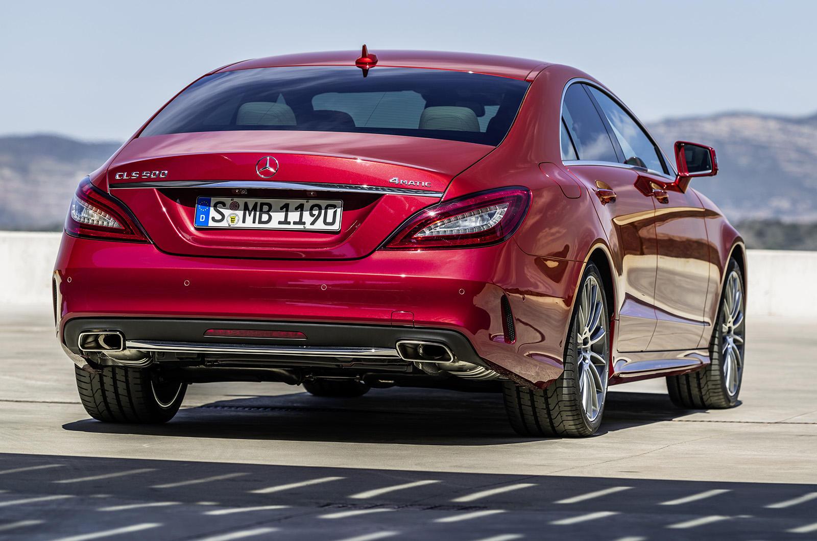 Mercedes CLS Facelift - Mercedes CLS Facelift