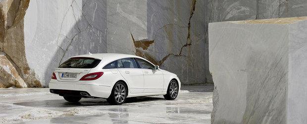 Mercedes CLS Shooting Brake - Primele imagini oficiale!