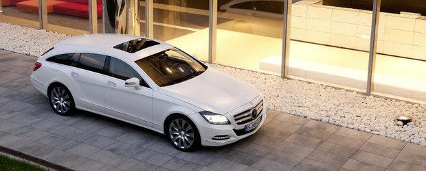 Mercedes CLS Shooting Brake - Studiu de design asupra functionalitatii