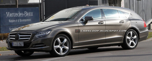 Mercedes CLS Shooting Brake, tot mai aproape de productia de serie