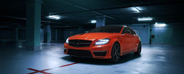 Mercedes CLS63 AMG by GSC - Furia portocalie