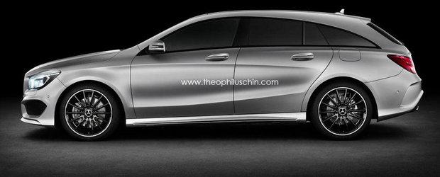 Mercedes confirma lansarea unui CLA Shooting Brake