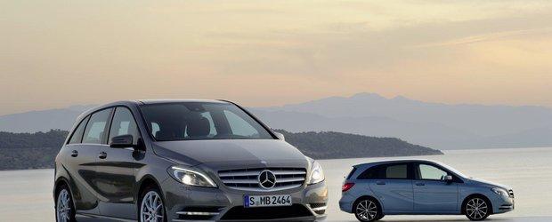 Mercedes confirma un crossover construit pe platforma MFA
