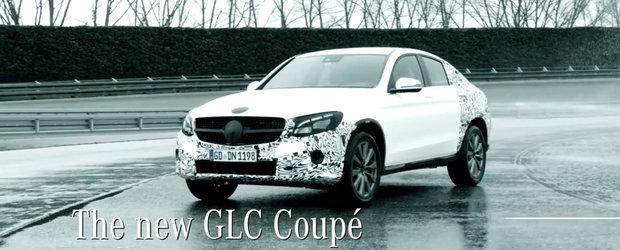Mercedes confirma un rival pentru BMW X4. Cand se lanseaza noul GLC Coupe