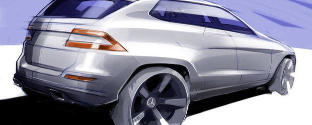 Mercedes confirma un rival pentru BMW X6