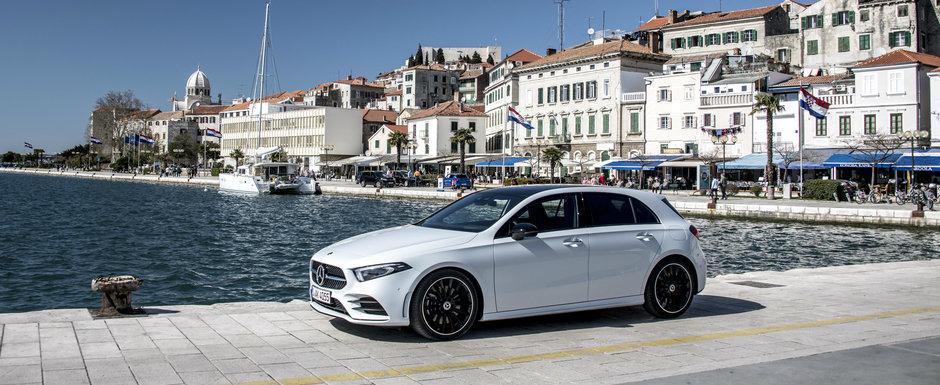 Mercedes crede ca noul A-Class arata mai bine decat competitia si publica aceste imagini ca sa-si sustina teoria