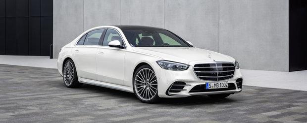 Mercedes crede ca noul S-Class arata mai bine decat orice Audi A8 si BMW Seria 7 si publica peste 250 de imagini ca sa o demonstreze