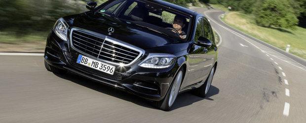 Mercedes demareaza vanzarile noului S500 PLUG-IN HYBRID