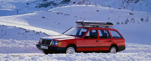 Mercedes desface sampania. Au trecut 35 de ani de la lansarea modelului W124 T-Modell