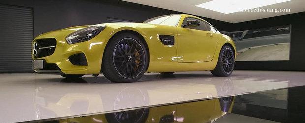 Mercedes detaliaza punctele forte caracteristice noului AMG GT
