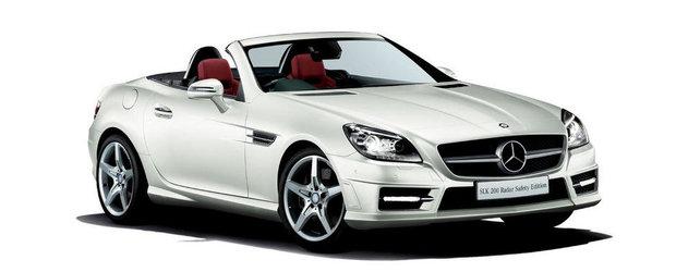 Mercedes dezvaluie noua editie speciala SLK200 Radar Safety
