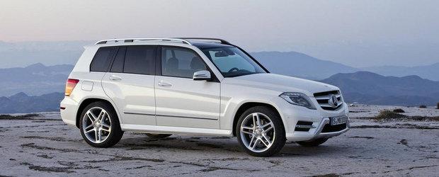 Mercedes dezvaluie noul GLK250 4Matic