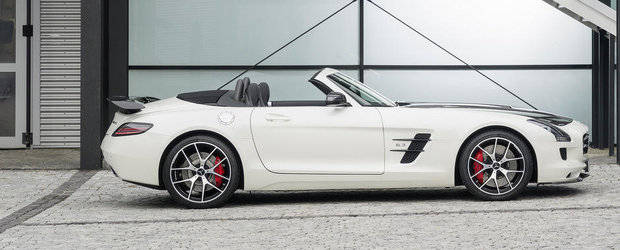 Mercedes dezvaluie noul SLS AMG GT Final Edition, ultimul SLS AMG din istorie!