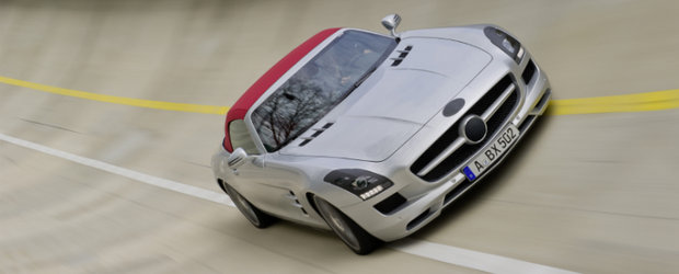 Mercedes dezvaluie noul SLS AMG Roadster. Sau pe-aproape