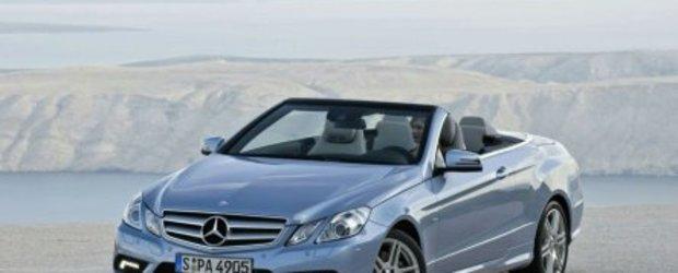 Mercedes E-Class Cabrio - Foto, video & detalii oficiale