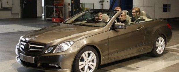 Mercedes E-Class Cabrio - Primele imagini